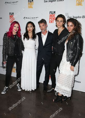Stock Photo of Bella Thorne, Anna Akana, Brent Bonacorso, Nash Grier, Guest
