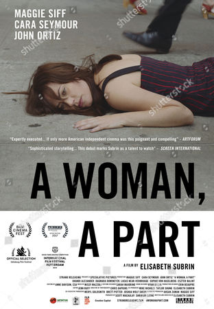 Stock Image of A Woman, A Part (2016) Poster Art. Maggie Siff