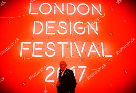 Sir John Sorrell CBE, Chairman of London Design Festival, at London Design Festival 2017 press conference, at The V&A.