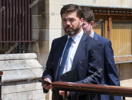 Conservative party politician Stephen Crabb MP for Preseli Pembrokeshire out and about in Westminster
