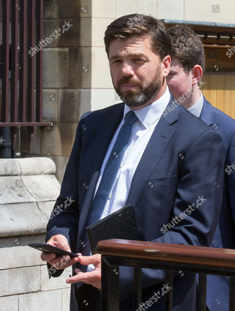 Editorial image of Stephen Crabb out and about in Westminster, London, UK - 13 Jun 2017