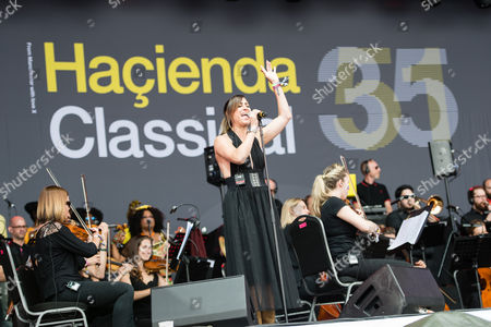 Stock Picture of Hacienda Classical - Graeme Park, Mike Pickering & Manchester Camerata Orchestra performing.