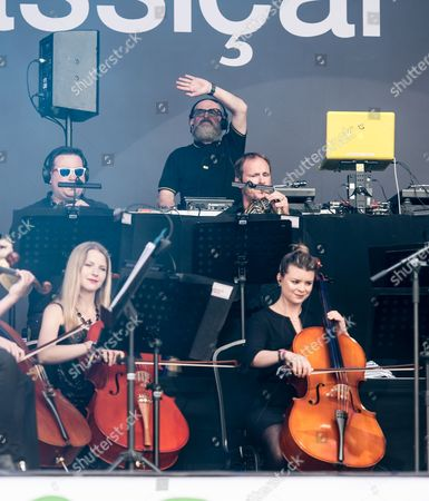 Hacienda Classical - Graeme Park, Mike Pickering & Manchester Camerata Orchestra performing.
