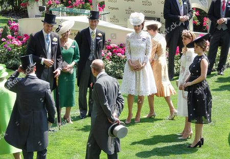Editorial image of 2017 Royal Ascot Day One, Ascot Racecourse, Berkshire, UK - 20 Jun 2017