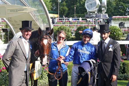 Editorial photo of Horse Racing - 20 Jun 2017