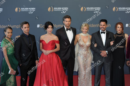 Reign Edwards, Katherine Kelly Lang, Jacqueline MacInnes Wood, Courtney Hope, Darin Brooks, Pierson Fode, Don Diamont