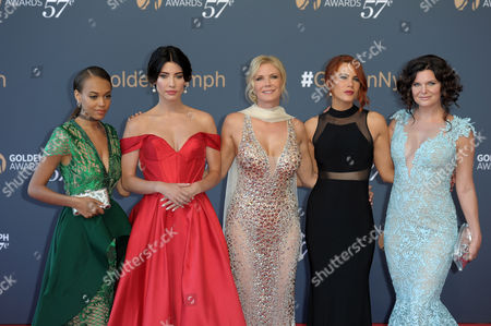 Reign Edwards, Katherine Kelly Lang, Jacqueline MacInnes Wood, Courtney Hope, Heather Tom