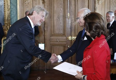 Rolf Lassgard, King Carl Gustaf, Queen Silvia