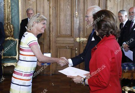 Eva Hamilton, King Carl Gustaf, Queen Silvia
