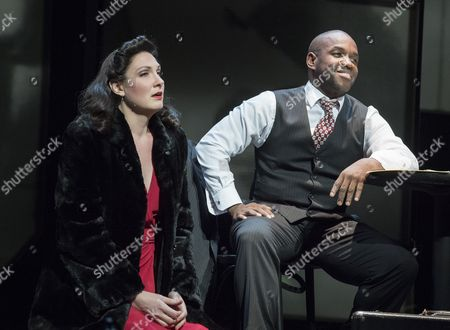 Lawrence Brownlee as Charlie Parker, Julie Miller as Baroness Nica