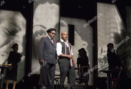 Will Liverman as Dizzy Gillespie, Lawrence Brownlee as Charlie Parker
