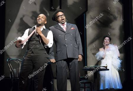 Lawrence Brownlee as Charlie Parker, Will Liverman as Dizzy Gillespie, Rachel Sterrenberg as Chan Parker