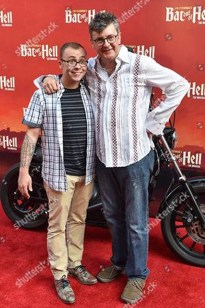 Joe Pasquale with his son Joe Tracini