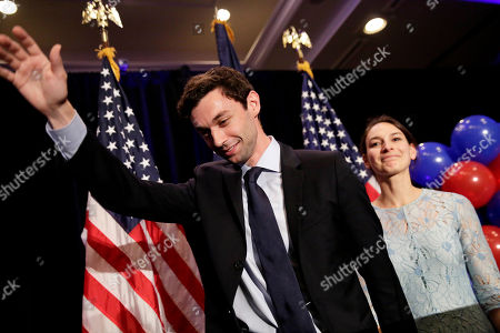 Jon Ossoff, Alisha Kramer Democratic candidate for 6th congressional district Jon Ossoff, left, waves to the crowd while stepping offstage with his fiancee Alisha Kramer after conceding to Republican Karen Handel at his election night party in Atlanta
