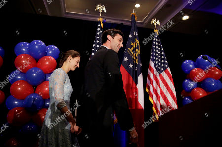 Jon Ossoff, Alisha Kramer Democratic candidate for 6th congressional district Jon Ossoff, right, steps onstage with his fiancee Alisha Kramer to announce he conceded to Republican Karen Handel at his election night party in Atlanta