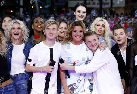 Stock Image of Marcus and Martinus and Gry Forssell