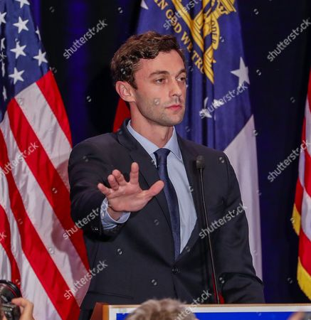 Editorial picture of Jon Ossoff election night party in Atlanta, Georgia, USA - 20 Jun 2017