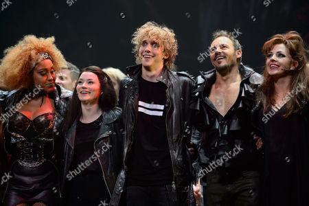 Danielle Steers (Zahara), Christina Bennington (Raven), Andrew Polec (Strat), Rob Fowler (Falco), Sharon Sexton (Sloan)