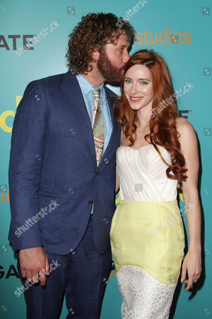 TJ Miller and Kate Gorney