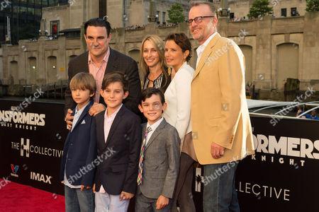 Mark Vahradian and family