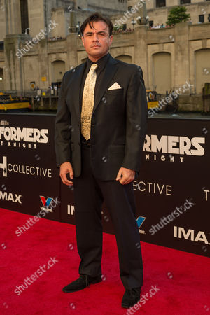 Editorial image of 'Transformers: The Last Knight' film premiere, Chicago, USA - 20 Jun 2017