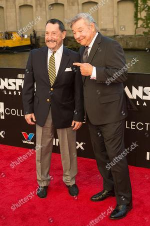 Peter Cullen and Frank Welker