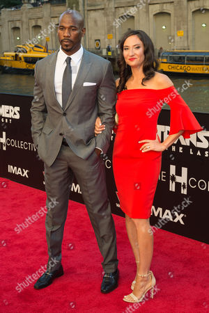 Remi Adeleke and his wife Jessica Adeleke