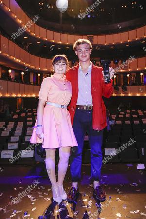 Lena Urzendowsky and David Schuetter
