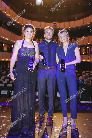 Katja Benrath, Tobias Rosen and Julia Drache