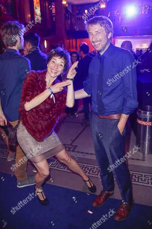 Anja Franke and Tobias Rosen