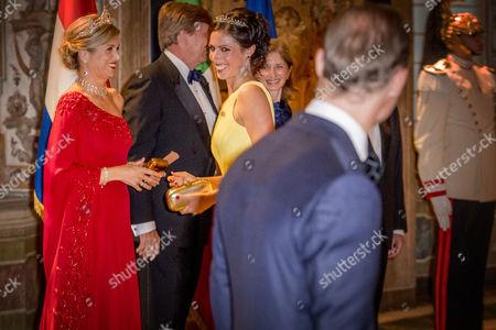 Queen Maxima, King Willem Alexander, Jaime Bernardo de Bourbon de Parma, Viktoria de Bourbon de Parma