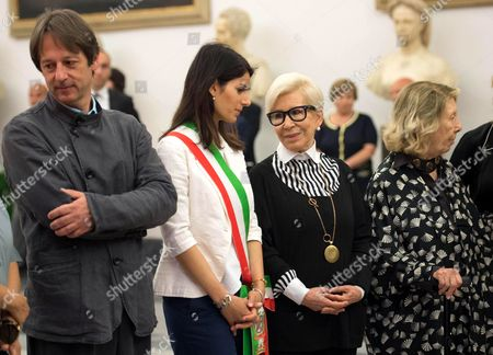 Editorial picture of Homage to Carla Fendi in Rome's City hall, Italy - 21 Jun 2017
