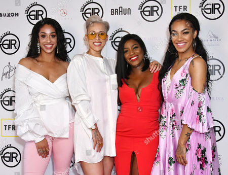 Alexandra Buggs, Courtney Rumbold, Carla-Marie Williams, Karis Anderson
