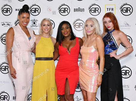 Stock Photo of Melody Kane, Sarah Richards, Carla Marie Williams, Alexis Knox, Rio Fredrika