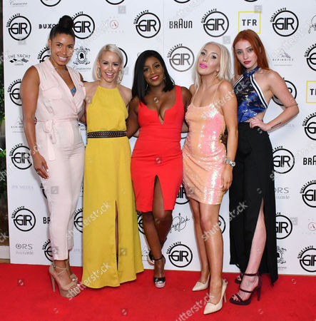 Stock Picture of Melody Kane, Sarah Richards, Carla Marie Williams, Alexis Knox, Rio Fredrika