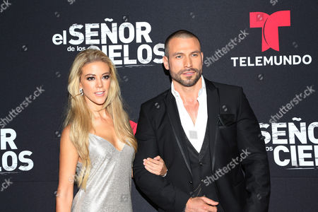 Rafael Amaya and Fernanda Castillo