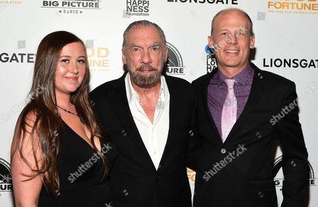Josh Tickell, John Paul DeJoria and Rebecca Tickell