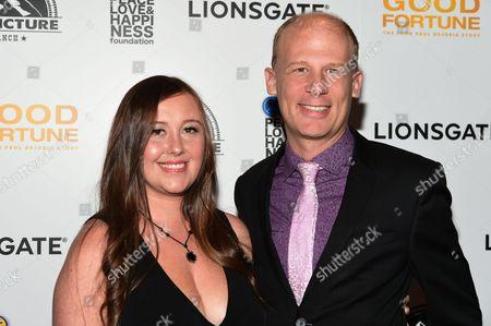 Josh Tickell and Rebecca Tickell