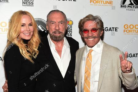 John Paul DeJoria, Eloise Broady and Geraldo Rivera