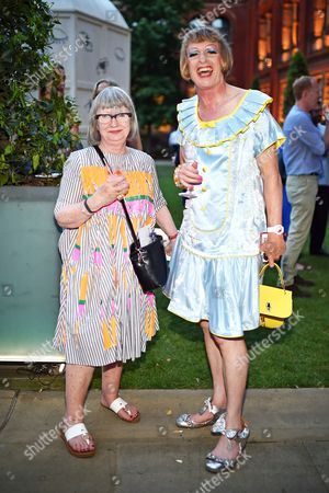 Esme Young and Grayson Perry