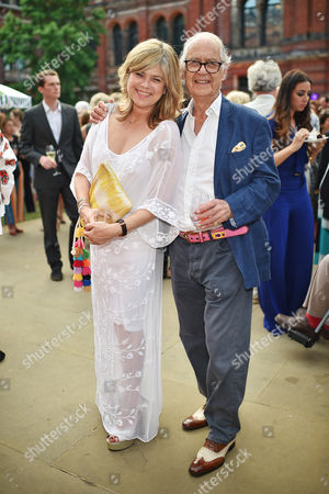 Sarah Standing and Sir John Standing attend the V&A Summer Party at the Victoria and Albert Museum, London on Wednesday 21st June 2017.