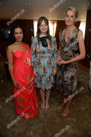 Anoushka Shankar, Leith Clark and Sophie Walker