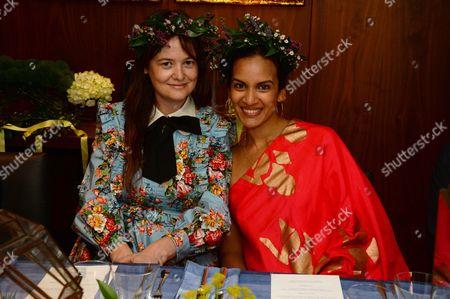 Leith Clark and Anoushka Shankar