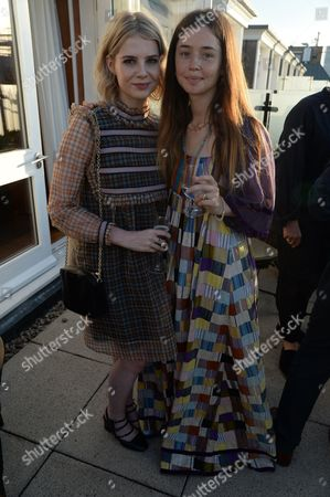 Stock Picture of Lucy Boynton and Florence Morrissey