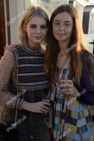Editorial photo of Leith Clark hosts Summer Solstice dinner, London, UK - 21 Jun 2017