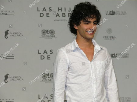 """Stock Picture of Mexican actor Enrique Arrizon of the film """"Las hijas de Abril"""" poses during a press conference in Mexico City. The film won the jury prix of the section Un Certain Regard at Cannes Film Festival and will premiere in Mexico on June 23, 2017"""