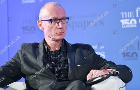 Robert Thomson, Ceo of News Corp, during the conference 'The Future of Newspapers' with the leading world players in the information industry, on the occasion of the 150 years of Italian newspaper 'La Stampa' in Turin, Italy, 21 June 2017.