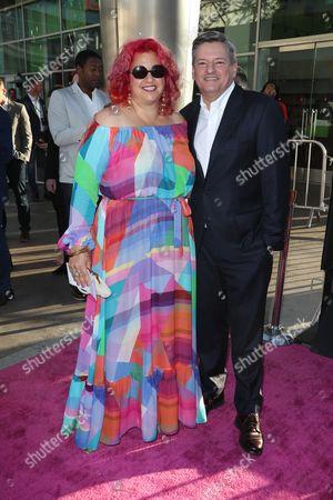 Jenji Kohan and Ted Sarandos