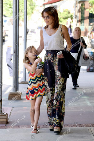 Editorial image of Bethenny Frankel and Bryn Hoppy out and about, New York, USA - 21 Jun 2017