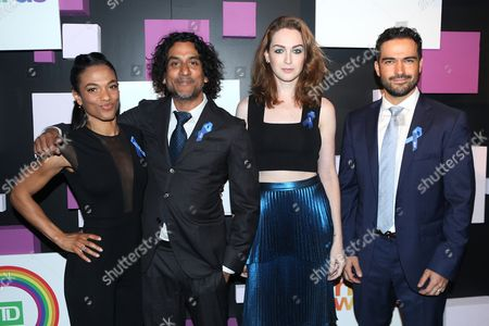 Freema Agyeman, Naveen Andrews, Jamie Clayton and Alfonso Herrera